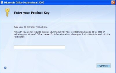 Free Microsoft Office 2007 Product Key - Activators4Windows.com