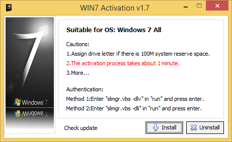 Windows 7 Ultimate Activator – One-Click and Permanent