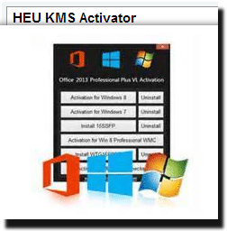 HEU KMS Activator 12 for Windows and Office Activation 2019