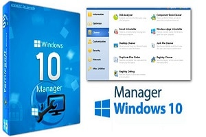 Windows 10 Manager 3.1.8 Crack + Keygen Full Version – [Latest]