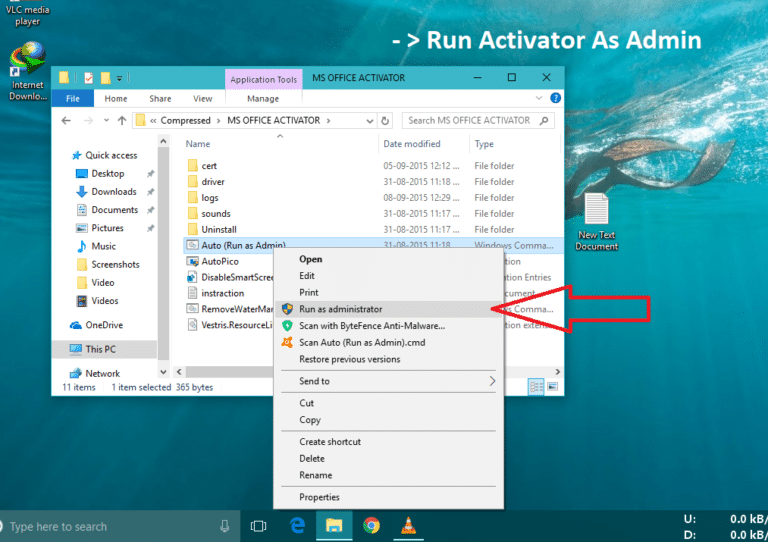 how to activate ms office 2016 product key