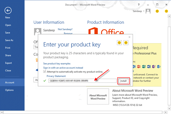 free product key for microsoft office 2019