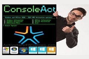 ConsoleAct 2.3 by Ratiborus - Windows and Office Activation 2019