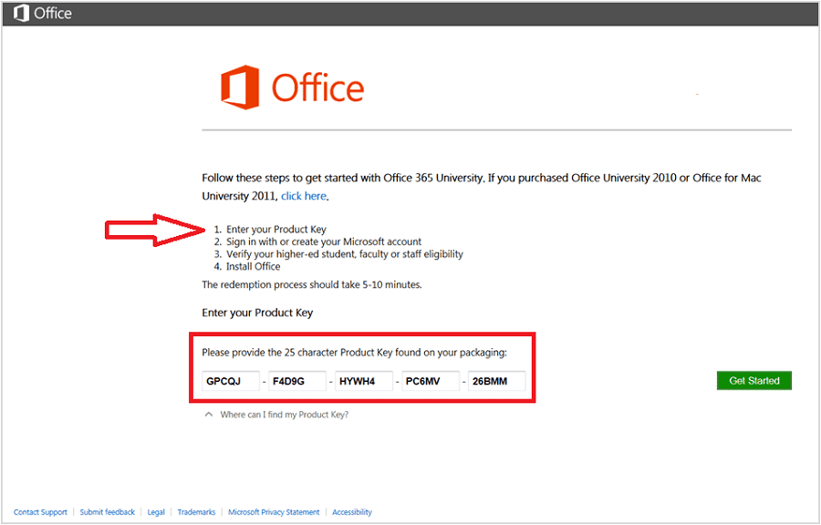 Microsoft Office 365 Product Key 2019 Free