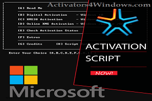 Microsoft Activation Script 0.6 Stable – [Windows and Office Activator]