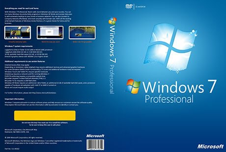 Windows 7 Professional ISO [32-64Bit] Full Version 2019
