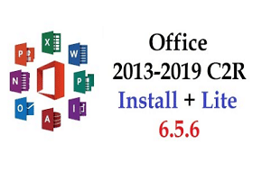 Office 2013-2019 C2R Install 6.7 Activator Final – Lite Version 2019