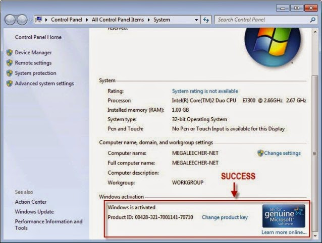 windows 7 starter iso with product key