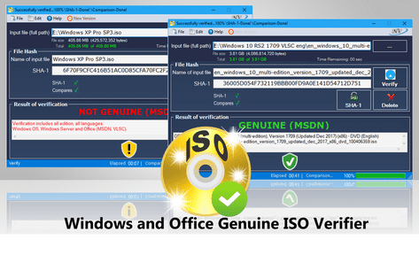 Windows and Office Genuine ISO Verifier 8.7.9.9 Portable Download