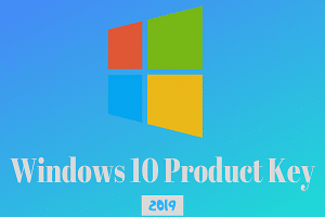 Windows 10 Product Key 2019 Free for Activation – 100% Working List