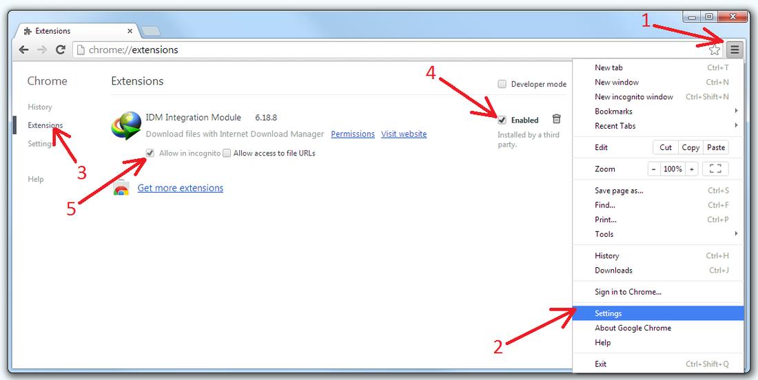 IDMGCExt.crx Free 2020 | IDM Extension For Chrome , Firefox & Opera