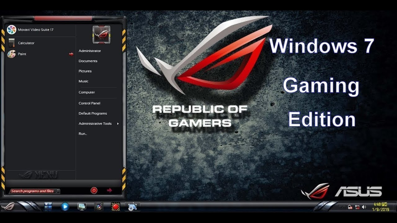 Windows 10 ROG Edition v6 with Office 2019 - Updated March 2020