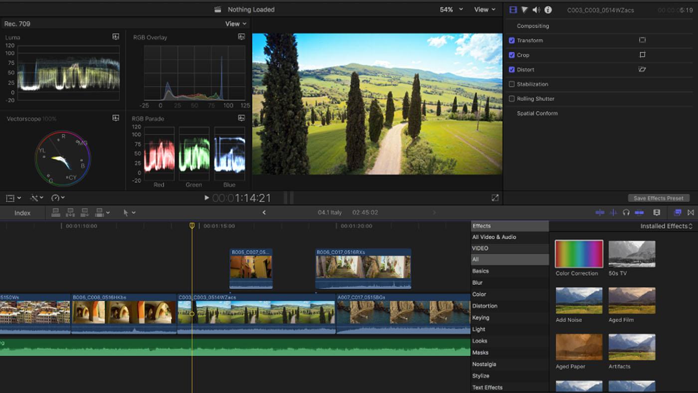 Final Cut Pro X 10.5.1 Crack Free for (Windows/Mac) - Torrent 2021