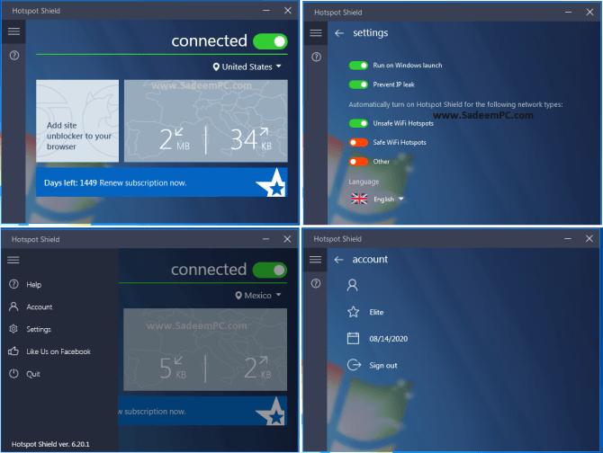 Hotspot Shield Elite Crack Premium 10.12.1 (PC/Mac) - Free VPN 2021