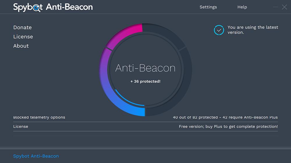 Download Spybot Anti-Beacon 3.5 Free with License Key 2021