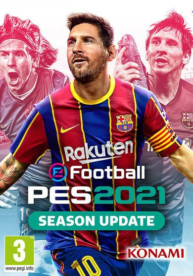 Efootball Pro Evolution Soccer (PES) 2021 Crack (Free PC Game)