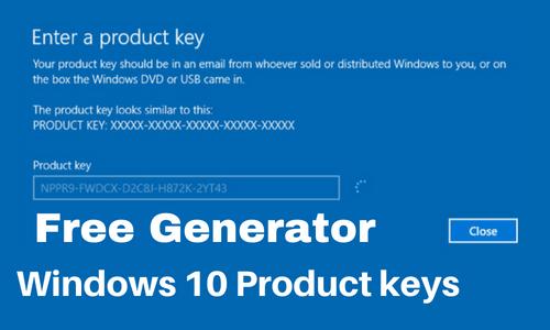 Windows 10 Keys Generator & Finder Free 2021 [100% Working]