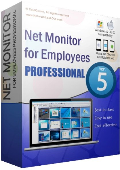 EduIQ Net Monitor for Employees Professional 5.7.12 With Crack 2021