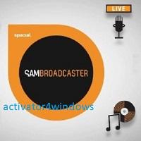 SAM Broadcaster PRO Crack & Keygen Latest Version 2021 [NEW]