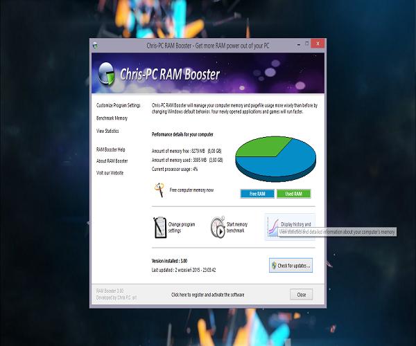 Chris-PC RAM Booster 5.20.20 Crack + Serial Key Latest Version 2021